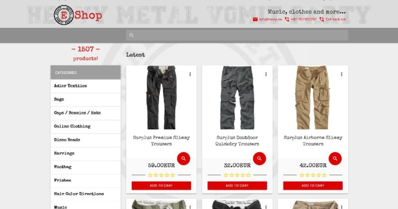 HMVP e-shop